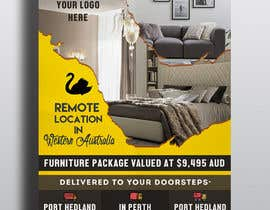 #46 untuk Create a flyer for furniture package oleh creativefolders