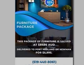 #38 untuk Create a flyer for furniture package oleh nayangazi987