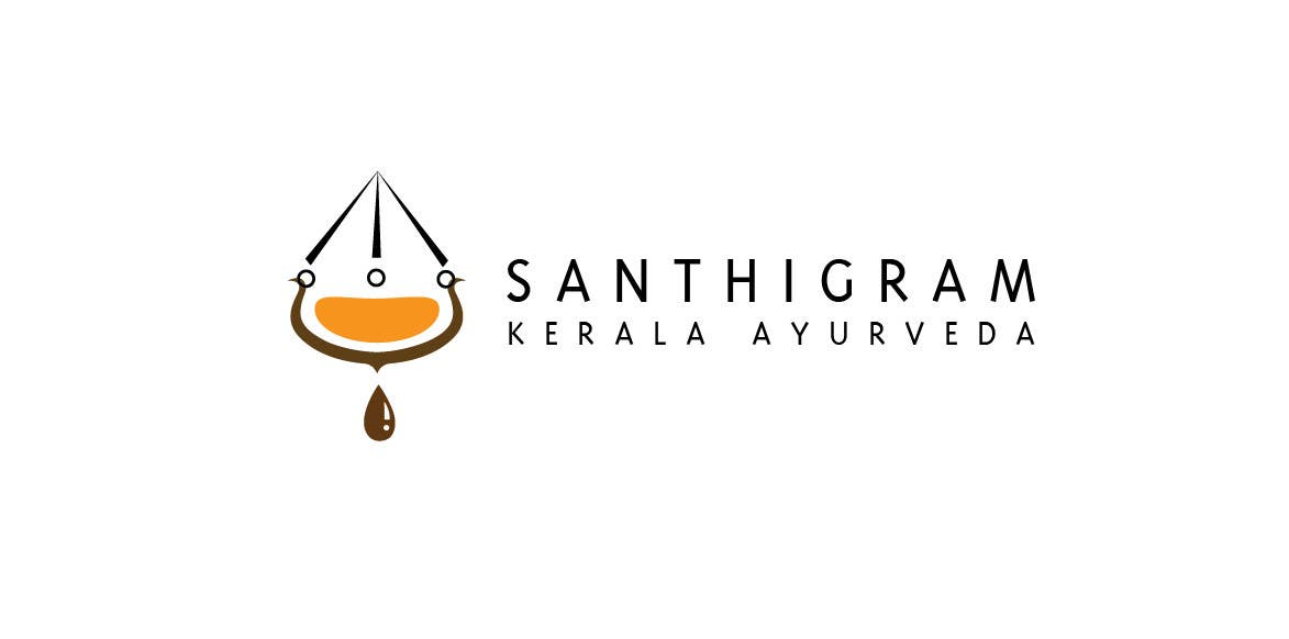 Конкурсная заявка №58 для Logo Design for Santhigram Kerala Ayurveda