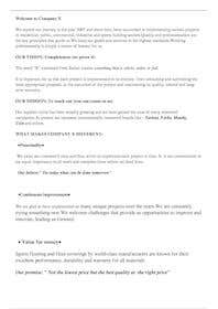İzleyenin görüntüsü                             Edit text for company presentati...