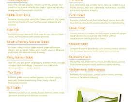 #9 untuk I need some Graphic Design for a menu oleh jaigtz