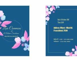 Nro 4 kilpailuun Wedding Invite käyttäjältä Rabby00