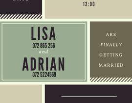 Nro 1 kilpailuun Wedding Invite käyttäjältä RedstoneIT