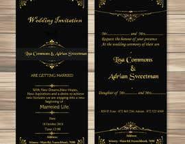 Nro 7 kilpailuun Wedding Invite käyttäjältä kolbalish