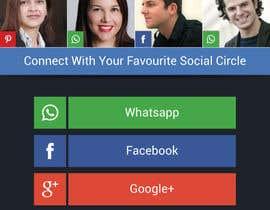 Nro 25 kilpailuun Design an App Mockup for a 2 page App käyttäjältä shiladutta