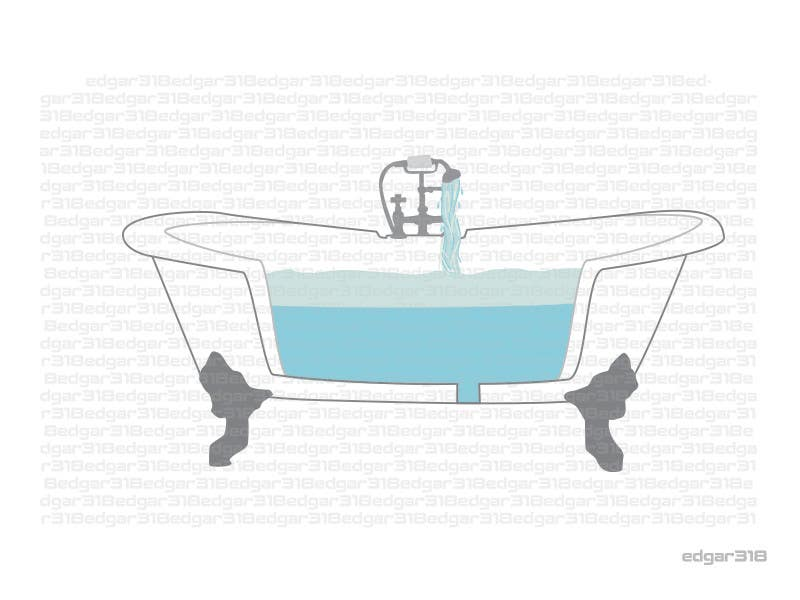 Contest Entry #47 For Illustrate A Cut Away View Of A Bathtub For A