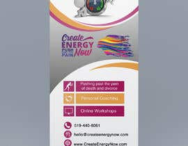 #22 for Create Design for Stand up Banner  33 x 77 inch Print af IJay21