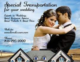 #1 cho Design a Flyer for Wedding Transportation Company bởi nadiashams