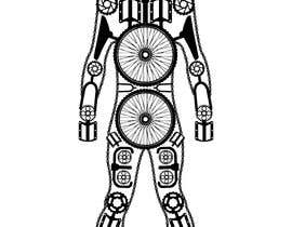 #5 cho I need a mosaic of a human body shape formed with parts from a bycicle. Parts can be repeated. For example, the head shape can be  the chainsets or cranksets. bởi ryqo