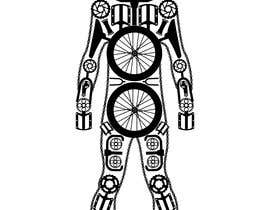 #7 cho I need a mosaic of a human body shape formed with parts from a bycicle. Parts can be repeated. For example, the head shape can be  the chainsets or cranksets. bởi ryqo