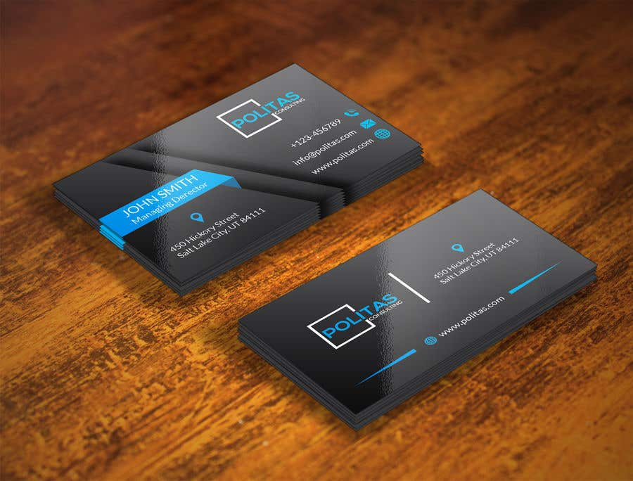 Entry 577 By Graphicsghar For Design Some Business Cards Freelancer
