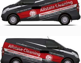 #18 for Van design and matching brochure design for a Cleaning Company by ravi05july