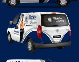 #20 for Van design and matching brochure design for a Cleaning Company by ravi05july