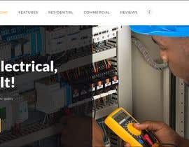 #53 for BUILD A SIMPLE, 5-PAGE WEBSITE FOR ELECTRICAL CONTRACTOR by benardel