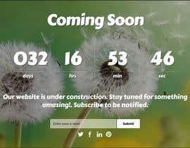 Nro 24 kilpailuun Coming Soon Landing Page käyttäjältä wazidhossain