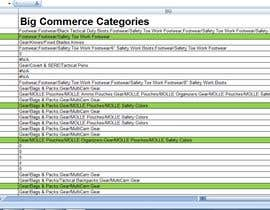#4 for Excel File conversion data from BigCommerce format to Springboard Retail format by SunniaImran