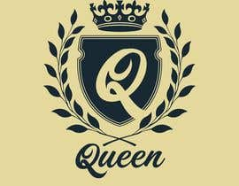 "#7 untuk logo design for a prestigious green tea brand .. name of the brand is ""Queen"" so the logo has to be very royal , should have the touch of a queens crown preferably have resemblance of the queen figure like on a deck of playing cards, should have a green l oleh StodgyDog"