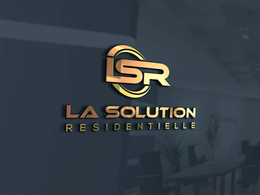 Конкурсна заявка №87 для Design a Logo for the company: La Solution Résidentielle