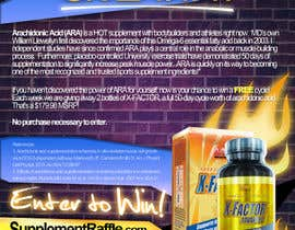 #89 untuk Advertisement Design for Sports Supplement for Bodybuilders/athletes oleh MJBenitez