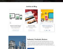 #7 for Website redesign 3 pages PSD only af yasirmehmood490