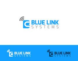 nº 227 pour logo for a firm named Blue Link Systems par bujarluboci