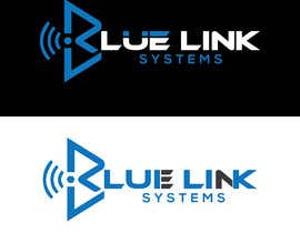 nº 498 pour logo for a firm named Blue Link Systems par tanjilsoumik