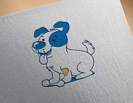 #23 per Logo design - Cartoon Dog Drawing logo da miranhossain01