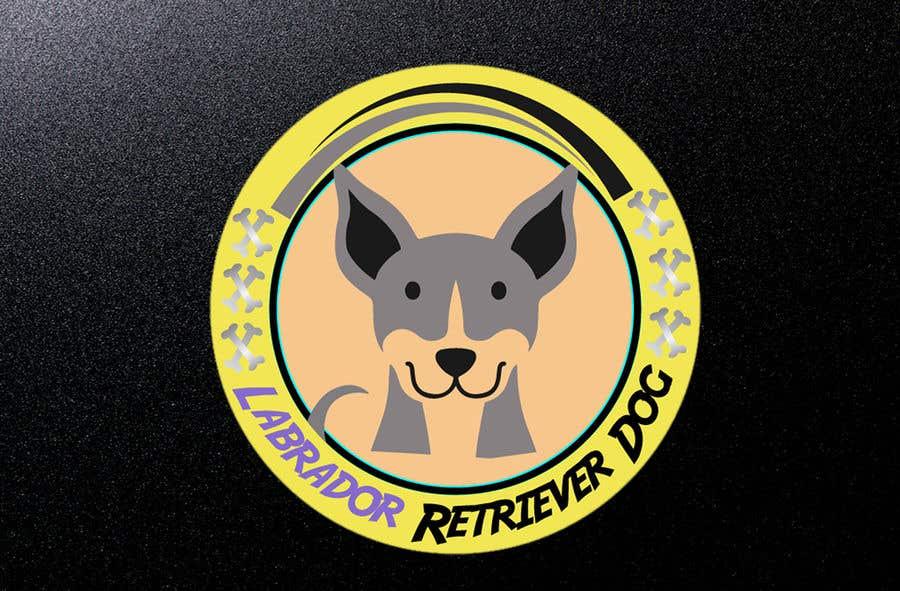 Wettbewerbs Eintrag #17 für Logo design - Cartoon Dog Drawing logo