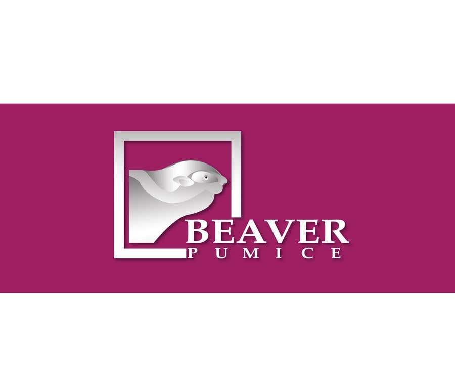 Participación en el concurso Nro.57 para Logo Beaver Pumice - Custom beaver logo