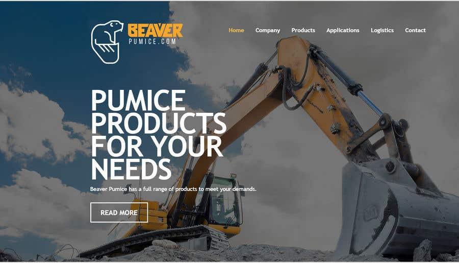 Participación en el concurso Nro.42 para Logo Beaver Pumice - Custom beaver logo