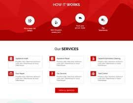 #20 Mockup Redesign of existing Website részére webmastersud által