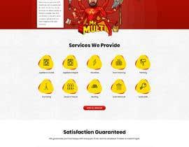 Nro 27 kilpailuun Mockup Redesign of existing Website käyttäjältä pixelwebplanet