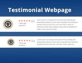 #4 for 5 Star Student Testimonial Webpage Desgn with HTML by amnashanwar