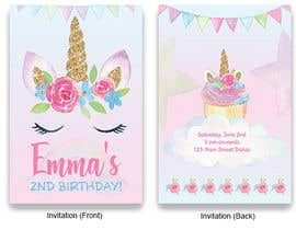 #8 untuk Invitation and some stationery design oleh SanduniK95