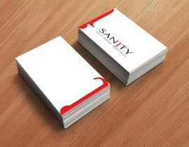 """Nro 30 kilpailuun Design a Loyalty Card for """"Sanity"""" käyttäjältä MinaTriant"""