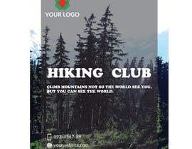 #16 for Flyer for Hiking Club af Ahmedrezasuman