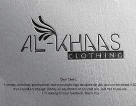 Nro 5 kilpailuun I need a logo designing for a clothing brand käyttäjältä waelabushady