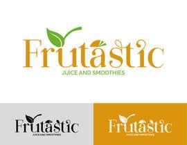 #107 para Design a Logo for New Juice n Smoothies Kiosk called Frutastic por notaly