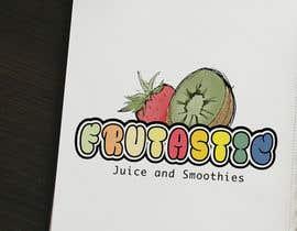 #57 para Design a Logo for New Juice n Smoothies Kiosk called Frutastic por cameron87