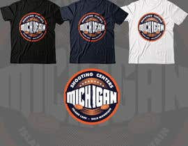 #75 for Michigan Shooting Centers T-Shirt Design Contest! af gilart
