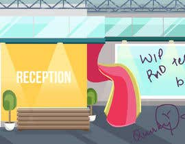 #10 for Scene Creation - Flat Designing: Creating a Reception Scene by trishabose