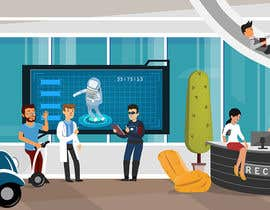 #14 for Scene Creation - Flat Designing: Creating a Reception Scene by PlutusEnt