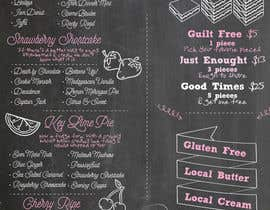 #56 untuk Fun Infographic Style Menu for Fudge Store oleh rivkah2u
