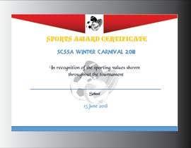 #37 cho Design a Certificate bởi shabberahmed