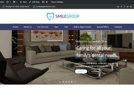 Nro 29 kilpailuun Design New WordPress Site Mockup käyttäjältä Baljeetsingh8551