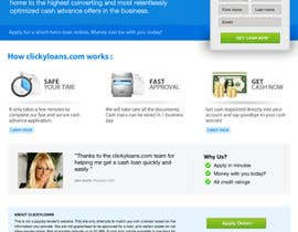 #8 for Website Design for clickyloans by danangm