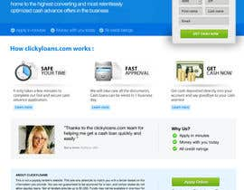 #13 para Website Design for clickyloans por danangm