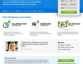 #41 para Website Design for clickyloans por danangm