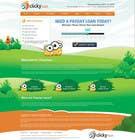Graphic Design Inscrição do Concurso Nº23 para Website Design for clickyloans
