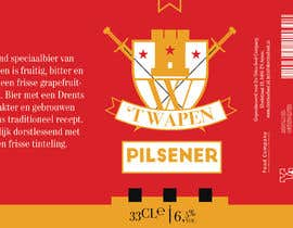 #7 for Create a new label for a premium pilsener (craft beer) brand extension by biplabnayan